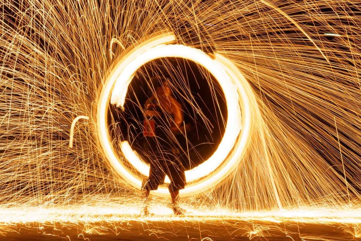 Fire show Luxury Villas Phuket, Party from Photo Gallery