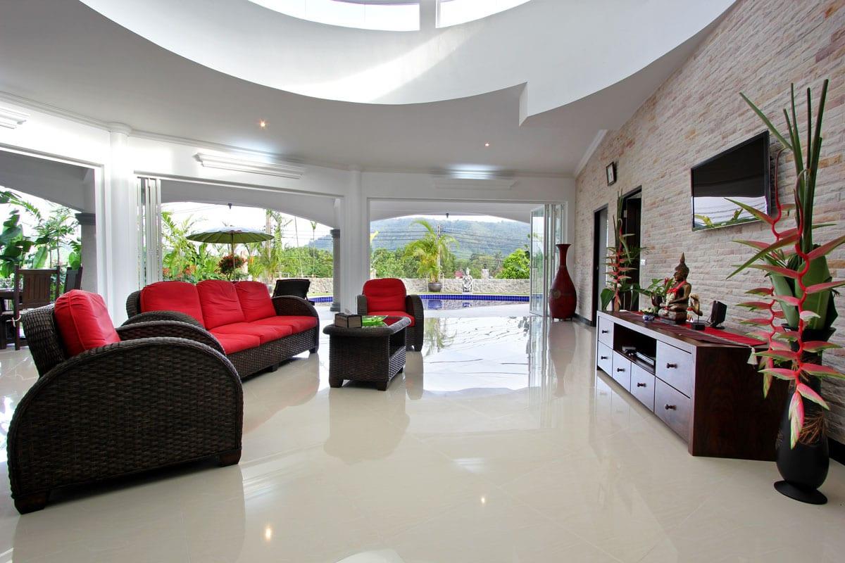 Villa Eden Living Room