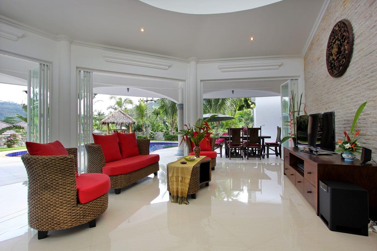 Villa Lotus Living Room