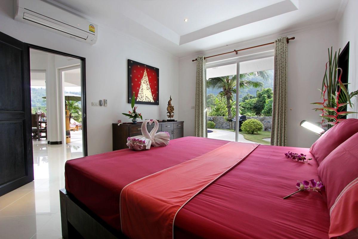 Sleeping room 1 Villa Orchid