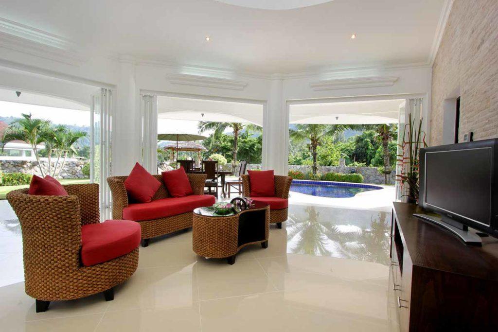 Villa Orchid Living Room