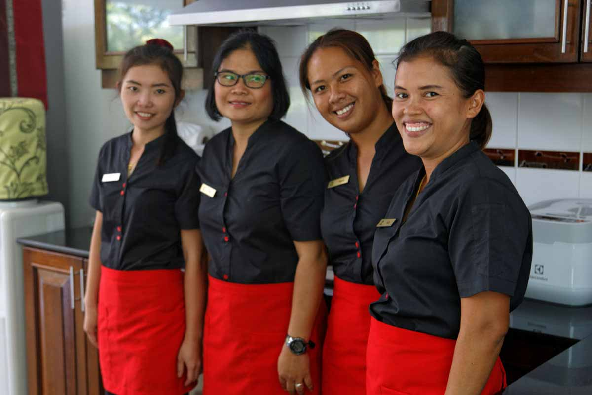 Phuket Pool Villa Housekeeping Team
