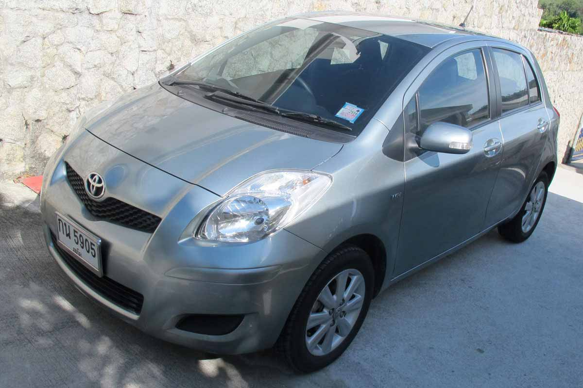 Toyota Yaris Car Rental Phuket