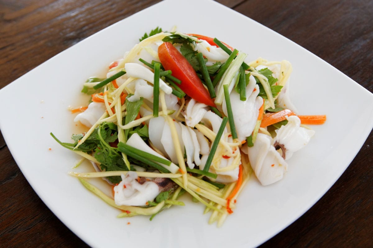Thai Salad with Squid