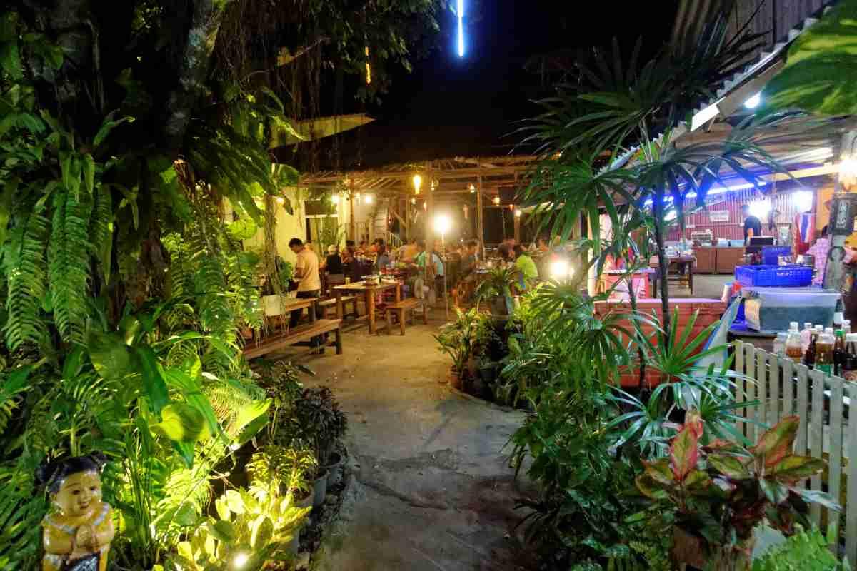 Cherngtalay hot Pot Barbeque Restaurant, Phuket, Thailand
