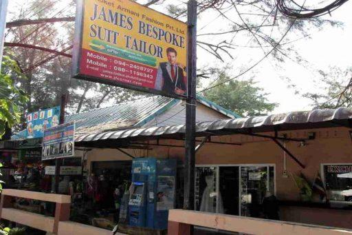 Jamie Bespoke tailor, Nai Yang, Phuket, Thailand