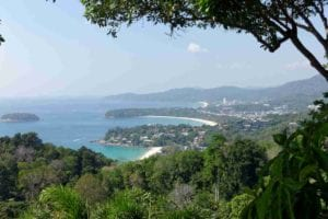 Karon Viewpoint aka Kata Viewpoint in Phuket, Thailand offers gives you a spectacular view of Kata Noi, Kata Yai and Karon beaches along with the breathtaking eight kilometers panoramic that exposes the true beauty of the tropical Andaman