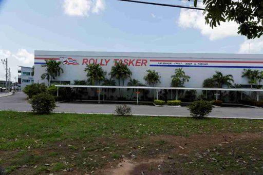 Rolly Tasker Sailmaker Phuket, Thailand