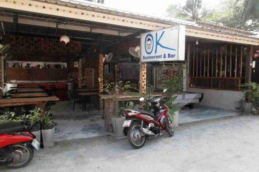 OK, restaurant, Nai Yang, Phuket, Thailand