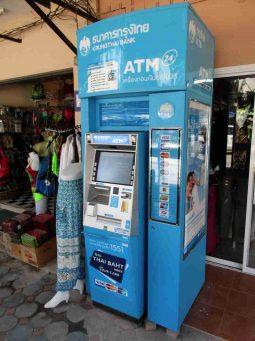 Krung Thai Bank, ATM, Nai Yang, Phuket, Thailand