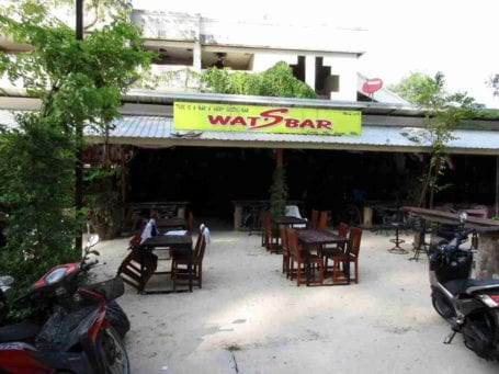 What's Bar, Nai Yang, Phuket, Thailand