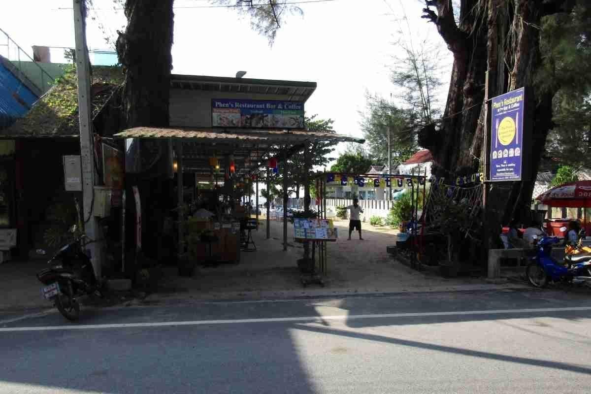 Restaurant Phen in Nai Yang, Phuket, Thailand