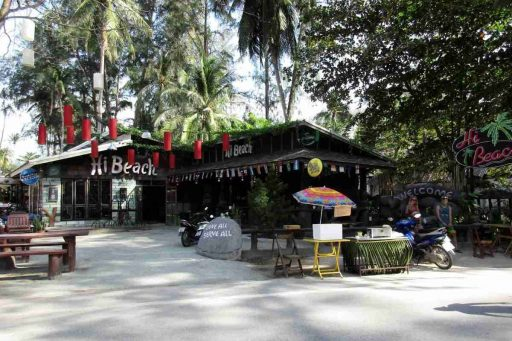 High Beach, Restaurant, Nai Yang, Phuket, Thailand