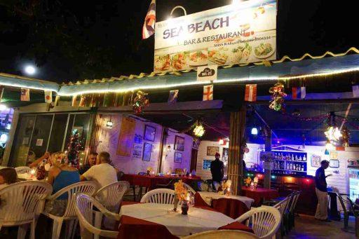 Sea Beach, Restaurant, Nai Yang, Phuket, Thailand