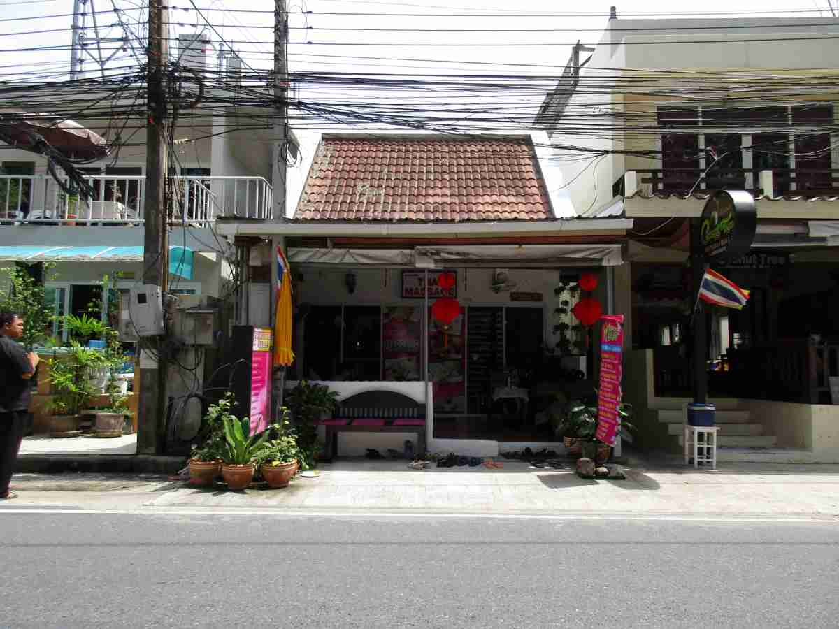 Coconut Tree massage shop Nai Thon