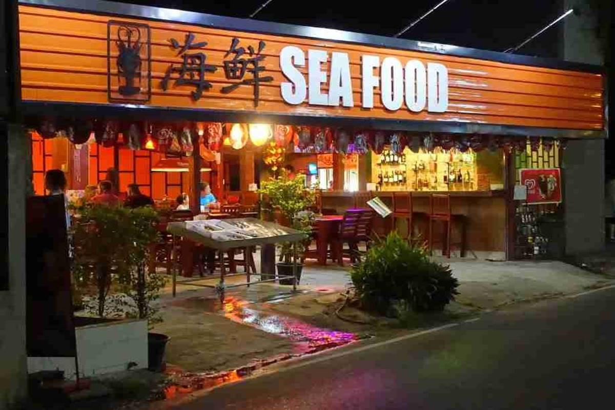 baan phutawam restaurant, Nai Thon, Phuket, Thailand