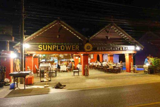 Sunflower Restaurant, Nai Thon, Phuket, Thailand