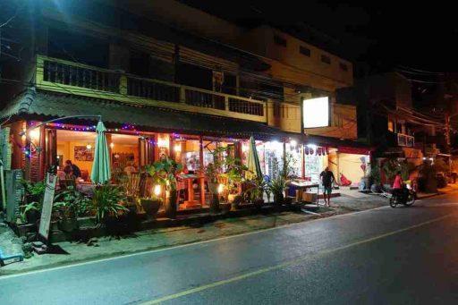 Tien Sing Thai restaurant Nai Thon Phuket