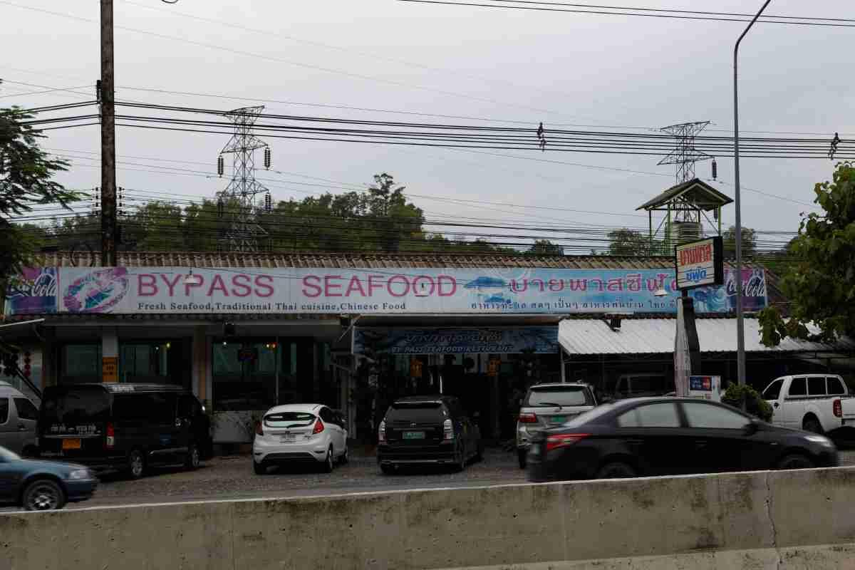Bypass seafood, Restaurant, Phuket, Thailand