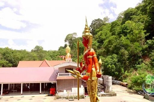 Wat Khao Rang temple in Phuket