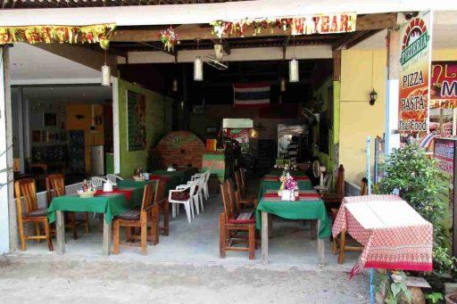 Pizzeria, Nai Yang, Phuket, Thailand