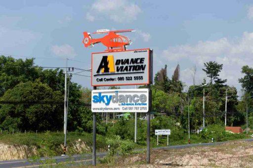 skydance by advance aviation, nai yang, phuket thailand