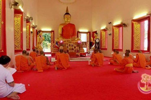Wat Mongkol Nimit in Phuket, Thailand