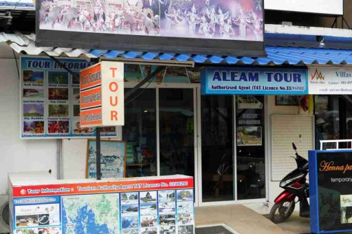 Aleam Tour Agency Bangtao