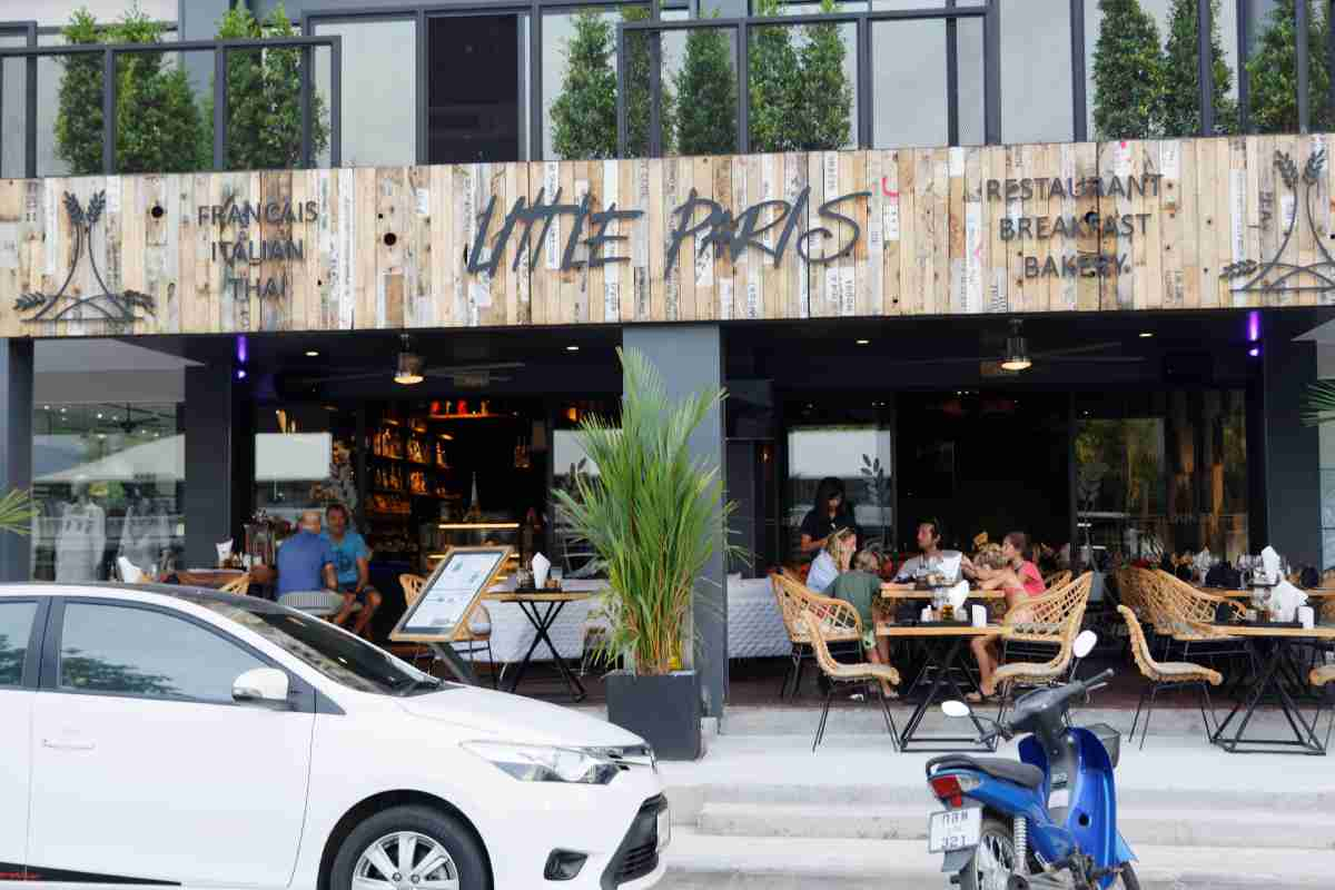 Little Paris French Restaurant Boat Avenue Cherngtalay