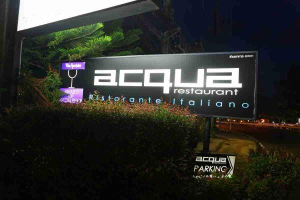 Acqua Restaurant Kalim