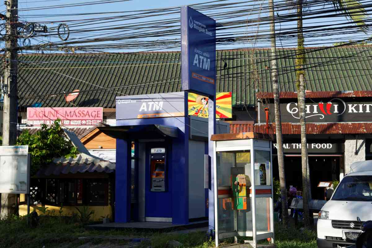ATM Bangkok Bank Lagoon