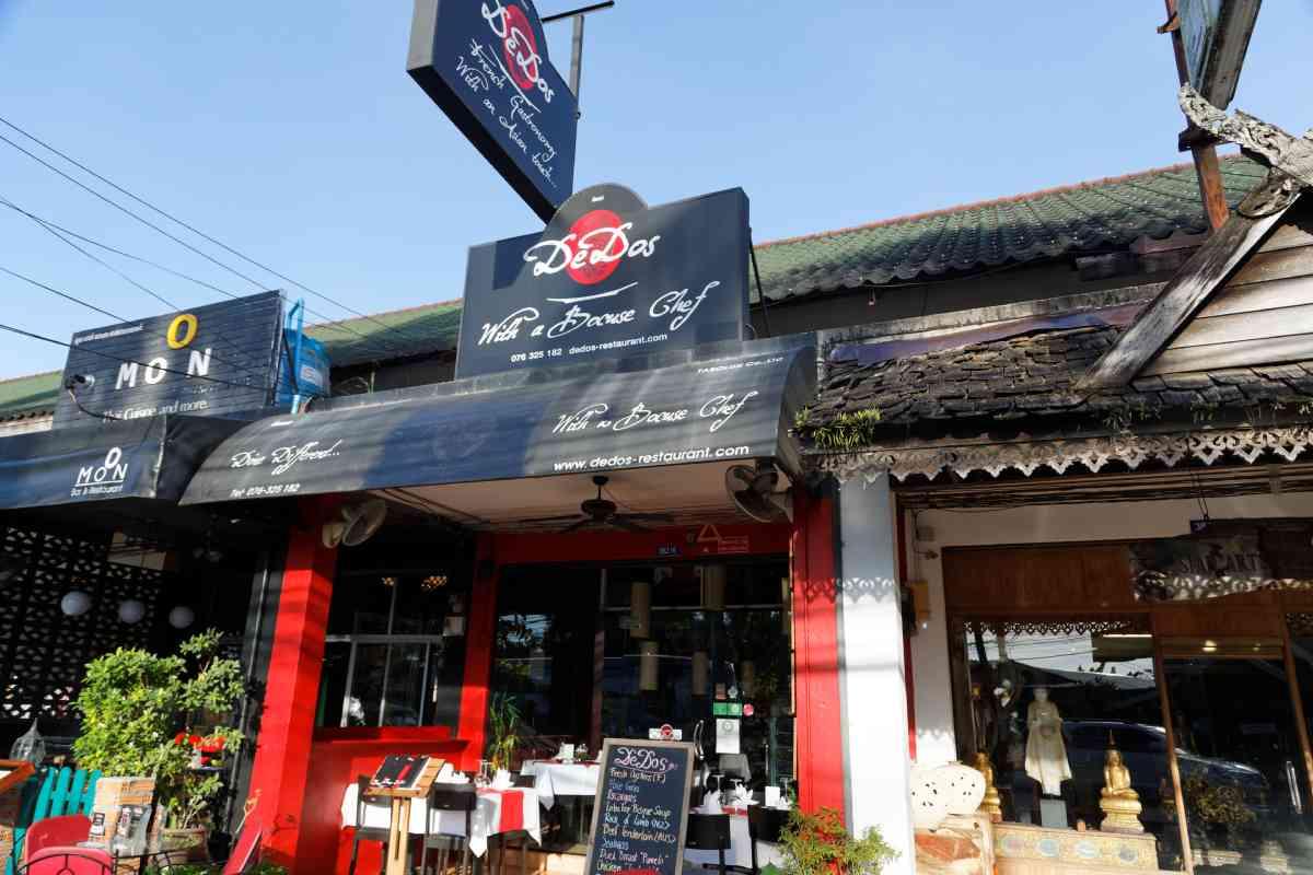 DeDos Restaurant Laguna Cherngtalay
