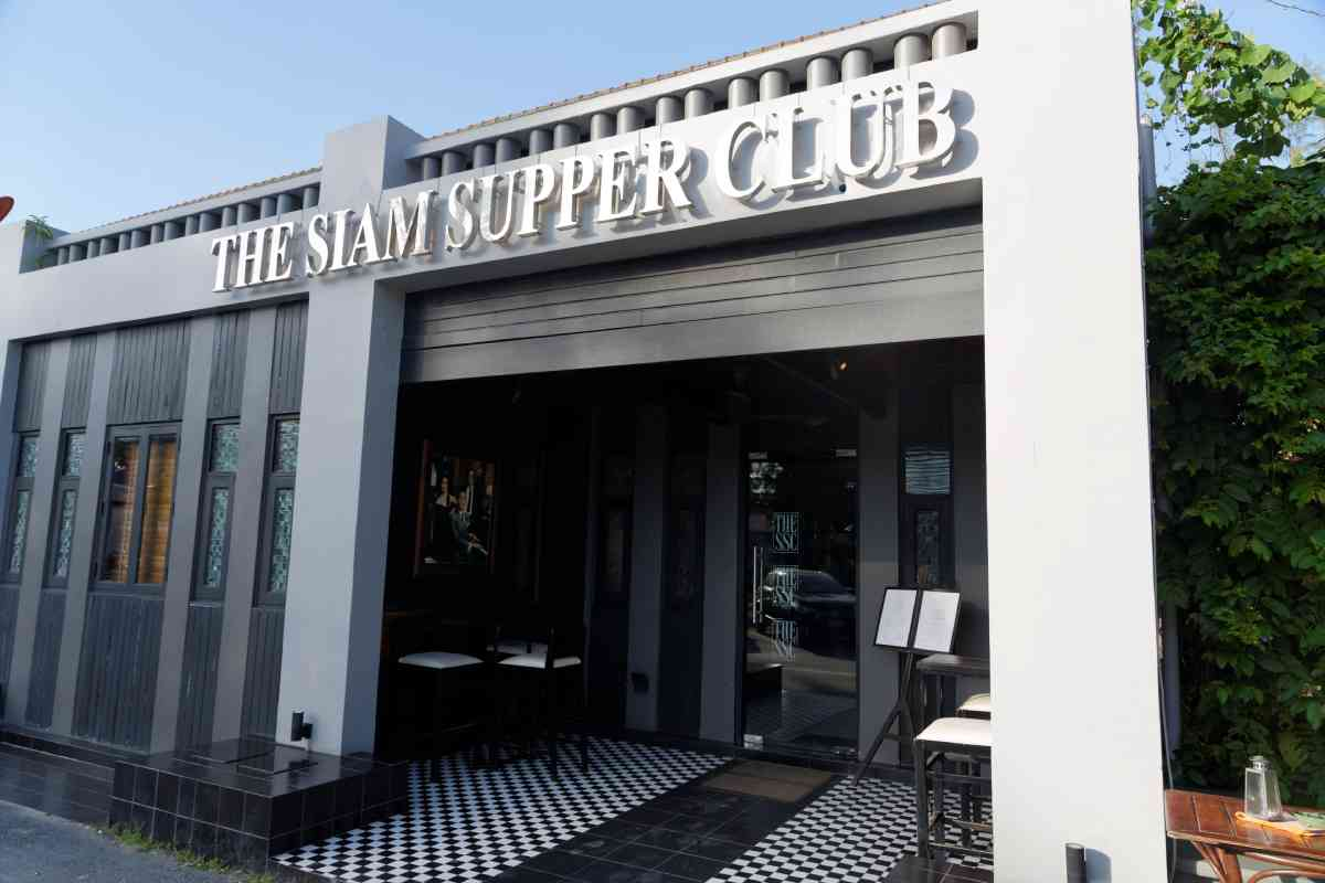 Siam Supper Club Restaurant, Cherngtalay