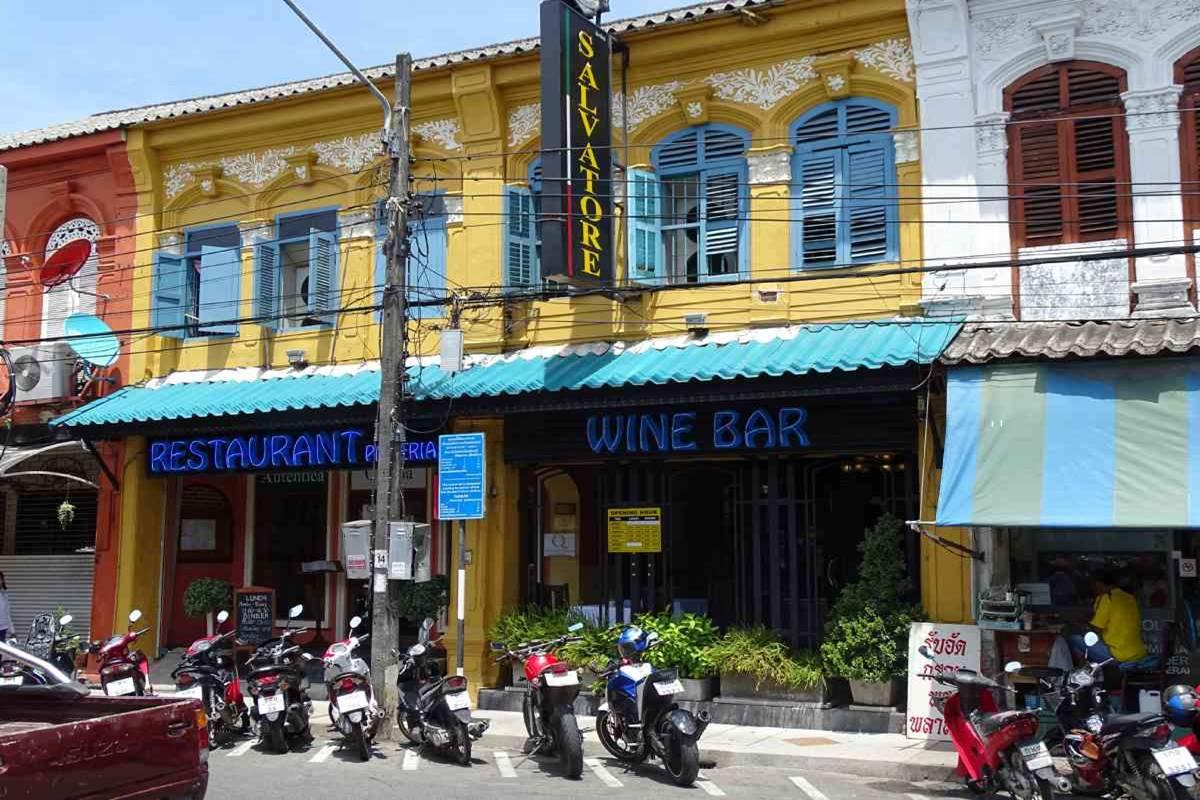 Salvatore Italian Restaurant Phuket Town