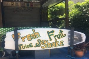 Fresh Fruit Juice Shake Surin