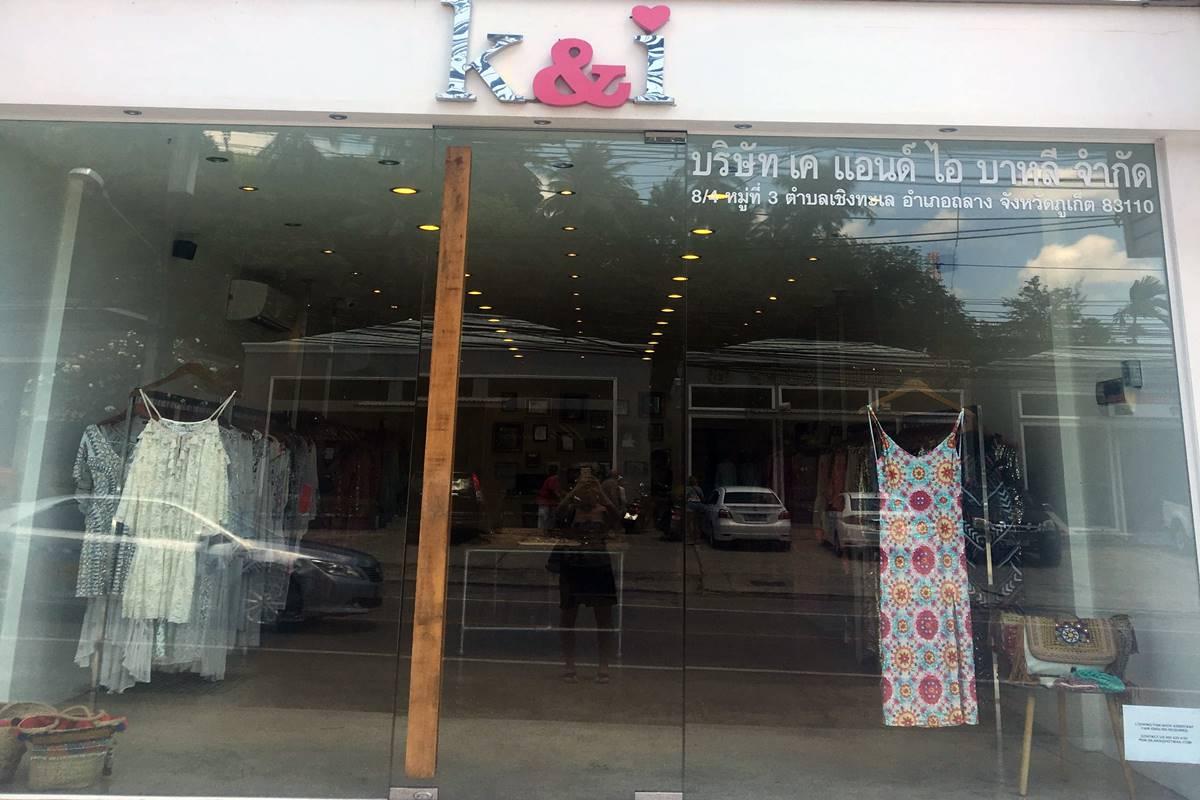 k & i clothing surin phuket