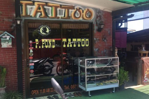 p pond tattoo phuket