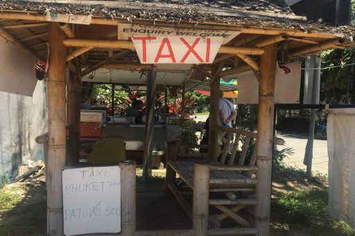 taxi stand surin one