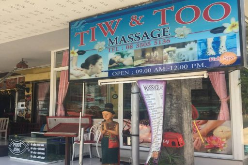 tiw too massage phuket
