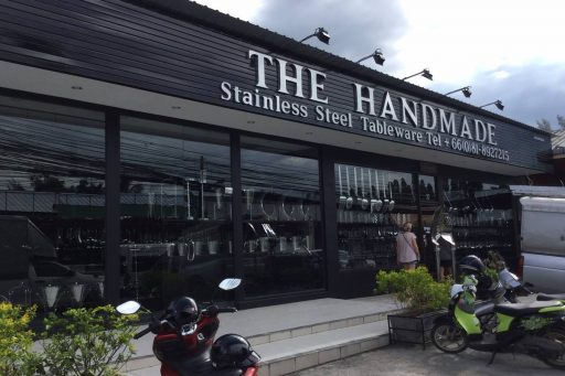 The Handmade Phuket | Stainless Steel Tableware