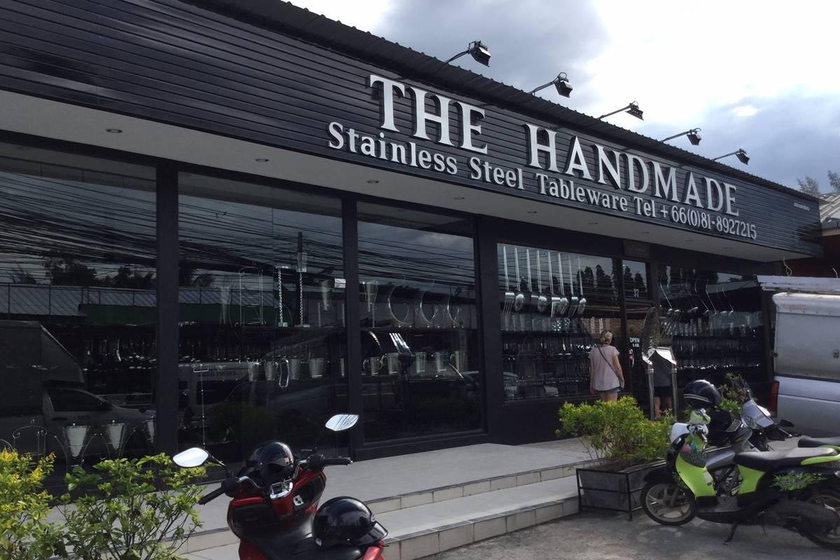 The Handmade Phuket | Stainless Steel Tableware