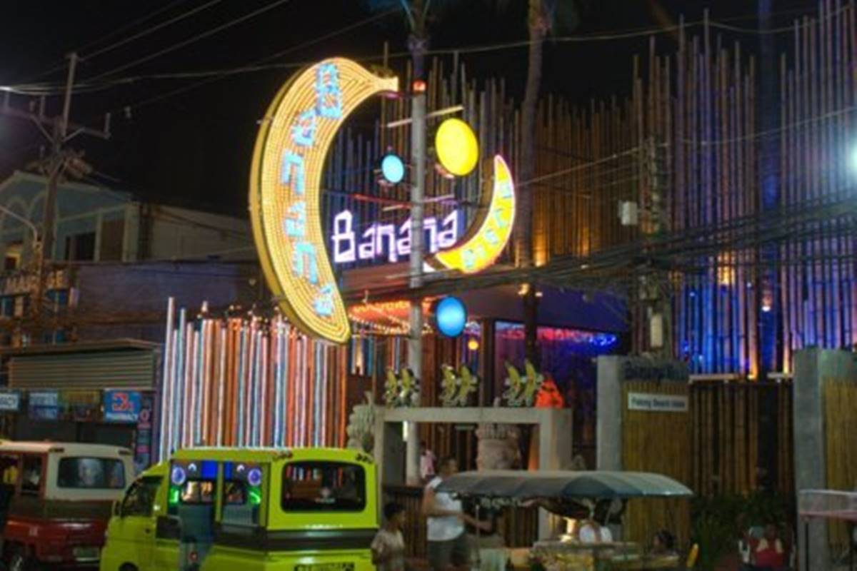 Exterior of the Banana Disco in Patong