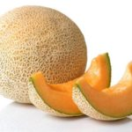 Sugar Melon (แคนตาลูป - Cantalope) Cucumis melo cantalupensis