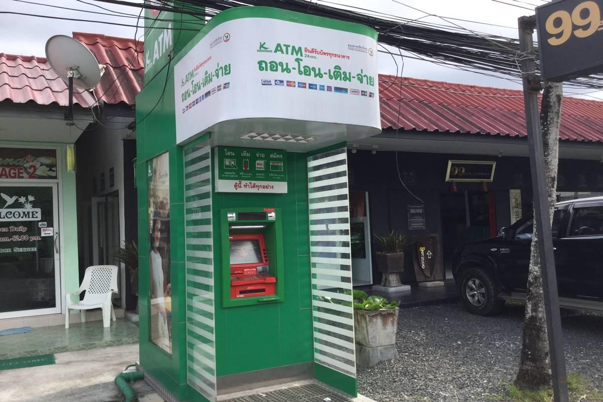 Kasikorn ATM Lagoon Street Phuket