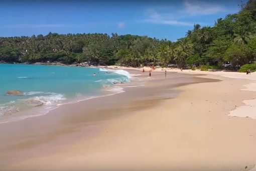 Pansea Beach Phuket north of Surin Beach