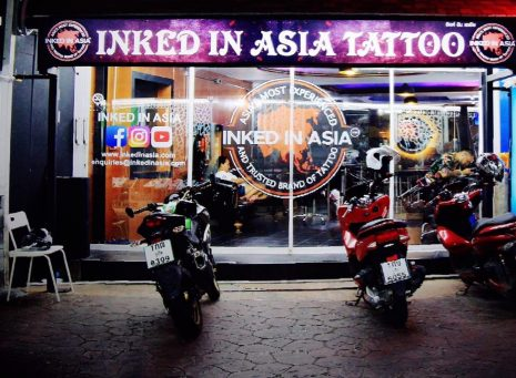 Front entry of the Inked In Asia Tattoo Studio | Patong Phuket