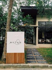 Entry of NITAN Phuket Restaurant