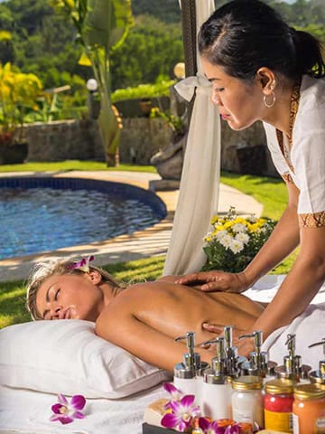 Private Phuket In-Villa Massage Lady