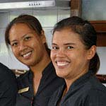 Phuket Housekeeper Team at Luxury Villas Phuket