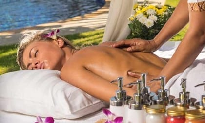Enjoy private in villa massage and spa services